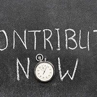 When is a contribution made?