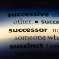successor word in a dictionary. successor concept.
